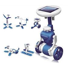 6 in1 Solar Kit Educational Robotics 6 Toys Car Plane Boat Windmill AirPlane DIY
