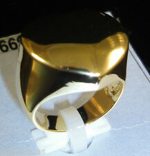 Gold Plated Heart Ring Sz 8
