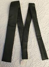 Cuadrado Final Corbata Corbata imitación piel de serpiente joven Hoja Tootal sin usar vintage 1960s Tricel