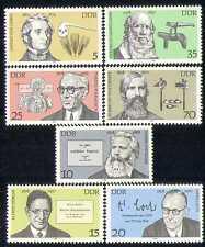 Alemania 1978 Ciencia/corazón/vista/médico/Agricultura/libros/personas 7 V Set (n28288)