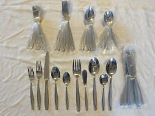 Oneida Stainless CAMLYNN Frosted 45 Silverware Set for 8 unused