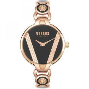 Orologio Donna VERSUS Versace SAINT GERMAIN VSPER0519 Acciaio Rosè Nero