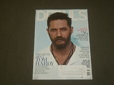 2015 MAY DETAILS MAGAZINE - TOM HARDY COVER - B 1679