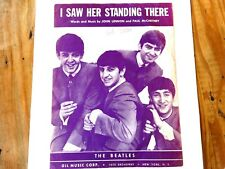Beatles – I Saw Her Standing There Sheet Music – 1964