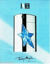 PUBLICITE ADVERTISING 116  1996   Thierry Mugler  parfum AMEN
