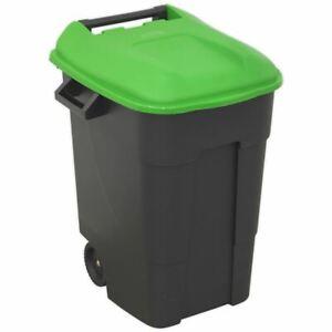 Sealey BM100G Refuse/Wheelie Bin 100L - Green