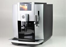 Jura Kaffeevollautomat (E8 Moonlight EB) Milchaufschäumsystem, Digitaldisplay
