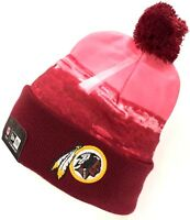 Washington Redskins New Era NFL Scapeshot Skyline Knit Pom Cuff Beanie Cap Hat