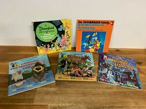 Vintage Disneyland Records and Book The Toothbrush Family Vinyl Stories Etc