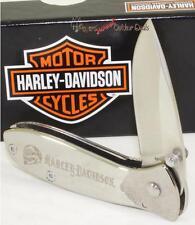 Case XX Harley-Davidson Motor Cycle Tec X Biker Skull Folding Pocket Knife