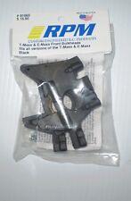 RPM 81062  T-MAXX & E-MAXX  FRONT BLACK BULKHEADS FITS ALL VERSIONS   NEW NIP