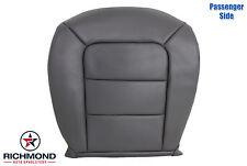 2001 2002 Ford Explorer Sport Trac-Passenger Side Bottom Leather Seat Cover Gray