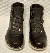 TIMBERLAND WOMEN'S EARTHKEEPERS MOSLEY BROWN  ANKLE BOOTS SIZE 7.5