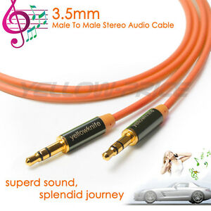 3.5mm Jack Male AUX Audio Stereo Headphone Cable 3.5 mm Auxiliary Cord 3.3ft