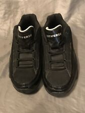 Mens Converse Black Basketball Mid Top Running Shoes 9R 08 07 Size 10