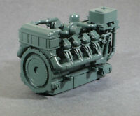 O Scale 1380HP V8 Diesel Turbocharged Aftercooled Industrial Engine Model GREEN