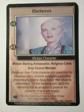 1999 Babylon 5 Ccg - Severed Dreams - Rare Card - Delenn ( Promote )