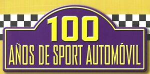 Altaya 2 tomos COMPLETO 100 años sport automovil España 800 PAGS 50 Fascículos