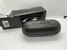 mens oakley Carbon Fibre sunglasses Box & Case + Glasses Holder