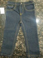 U.S. Polo Assn: Boys Jeans size 2T,  multi plaid color, cotton (NEW WITH TAGS)