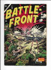 BATTLEFRONT #24 ==> FN- GOLDEN AGE WAR ATLAS COMICS 1954