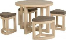 Wooden Living Room Antique Style Table & Chair Sets