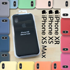 iPhone XR, iPhone XS, iPhone XS MAX Silicone Case Cover - NEW BOXED
