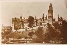 24262 AK Schloss Waldenburg vor dem Brand - Hergestellt um 1920