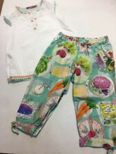 Oilily Picnic Trousers And Top Age 5 Girls Designer Clothes