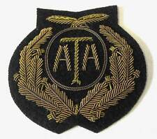 British ATA Air Transport Auxiliary Peaked Cap Hat Badge WW2 New Condition RAF