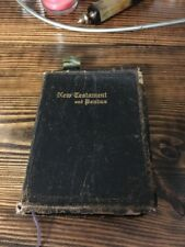 KING JAMES Holy Bible, Loose-leaf  Edition 1945 Psalms and New Testament