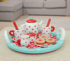 Indigo Jamm Wooden Tea set teddy bears picnic pretend play toy
