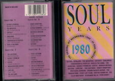 VARIOUS - SOUL YEARS 1980 - 2  Musicassetta Cassette Tape MC K7 NEW Never Played