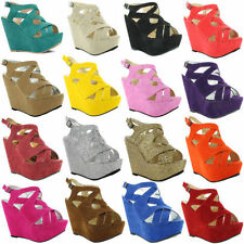 Unbranded Strappy, Ankle Straps Wedge Casual Heels for Women