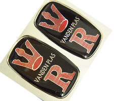 Pair Repro VDP Vanden Plas 4 Litre Wing Badges