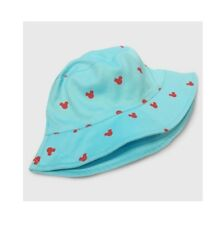 9bb9b2dd4e092 NEW DISNEY MICKEY MOUSE TARGET JUNK FOOD TODDLER GIRL TEAL BLUE BEACH BUCKET  HAT