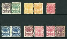 Samoa 1886 P11 complete SG 57b to 64b plus shades MM