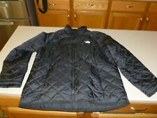 The North Face Women's Black Lightweight Quilted Jacket Coat sz XL