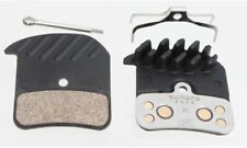 Shimano Metal Brake Pads (H03C) With Cooling Fins & Spring W/Split Pin