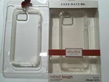 CaseMate Naked Tough For iPhone 5/5s Studio Collection Clear