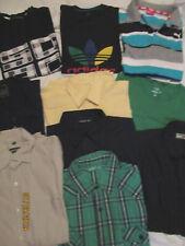 HE Bekleidungspaket 10 Teile Puma Adidas Review Shirt`s Hemden Gr. M 39/40