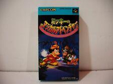 Mickey no Magical Adventure Quest Nintendo Super Famicom SFC Jap NTSC