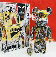 Medicom Be@rbrick 2018 Jean-Michel Basquiat Printings 400% + 100% bearbrick Set