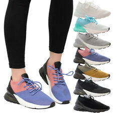 Ladies Women Gym Fitness Air Shock Absorbing Sneaker Running Trainers Shoes Size