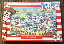 Where's Wally? Airport 100 Piece Jigsaw Puzzle NEW SEALED Vehicles/Cartoon/Waldo