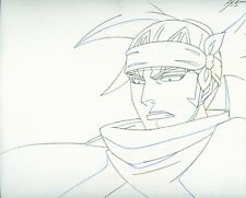 Bleach Anime Douga Pencil Drawing for Cel Renji Abarai Close-Up HOT!