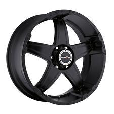 """18"""" Vision 395 Wizard Black Wheel 18x9 6x135mm -12mm Ford F150 Lincoln 6 Lug Rim"""