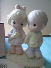 PRECIOUS MOMENTS Little Moments Mean a Lot YOU'RE FOREVER IN MY HEART Figurine