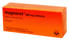 Magnesium MAGNEROT 500 mg. TAB.N50