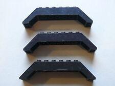 Lego 3 arches noires set 6330 4621 4586 6433 / 3 black brick arch